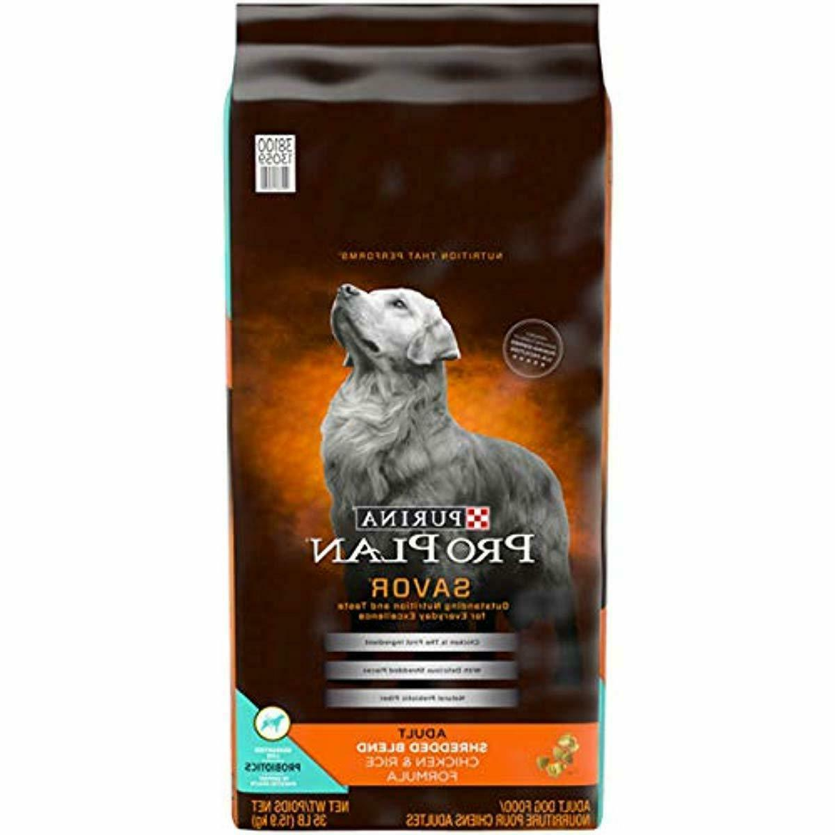 purina pro plan savor shredded blend