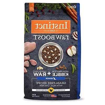 raw boost senior grain free recipe