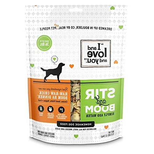raw grain dehydrated dog food