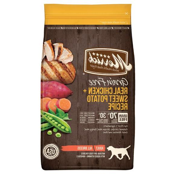 real chicken adult dog food natural grain