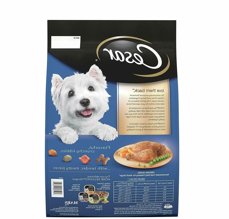 Cesar Rotisserie Dry Dog Food, Breed, lb