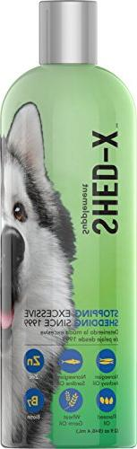 SynergyLabs Shed-X Dermaplex Liquid Daily Supplement for Dog