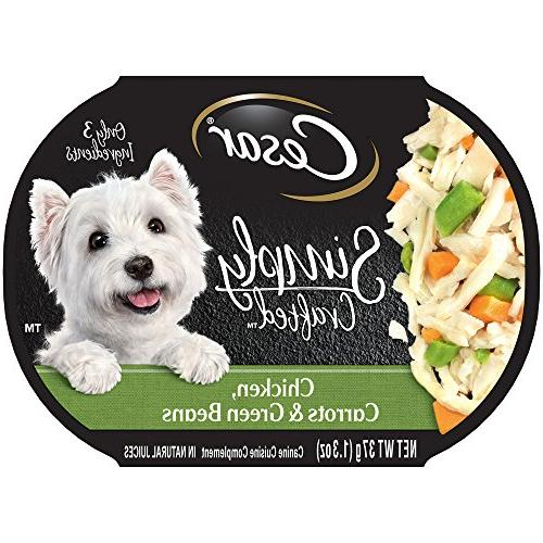 simply crafted wet dog food