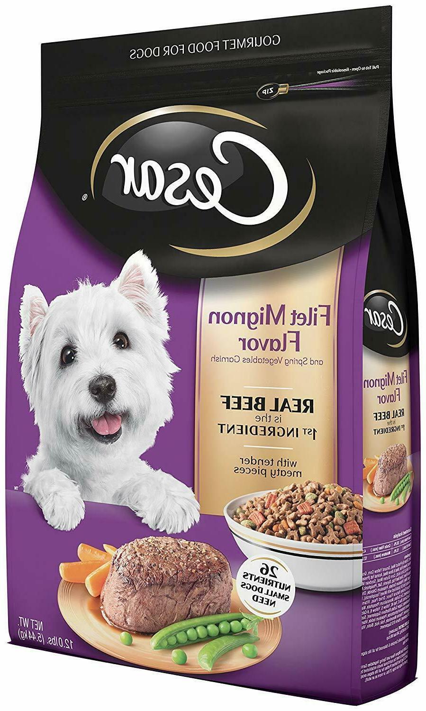 small breed dry dog food filet mignon