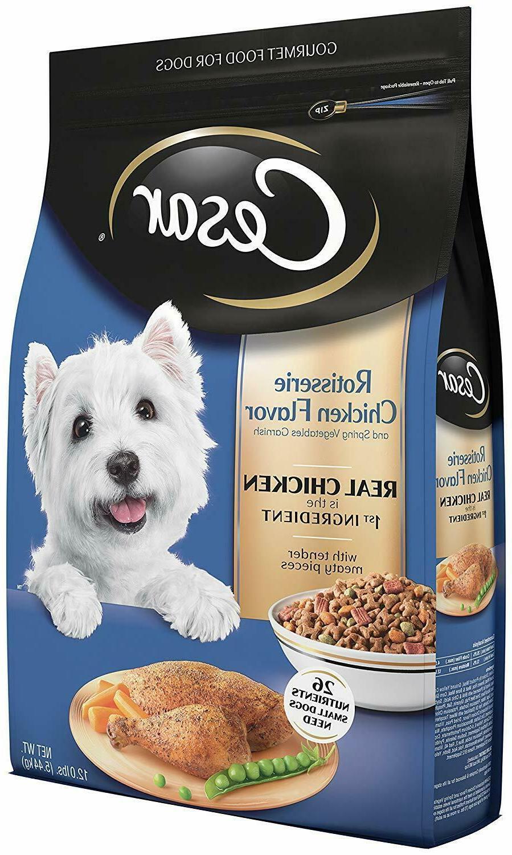 rotisserie chicken flavor dry dog food small