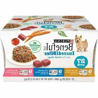 small breed wet dog food variety pack