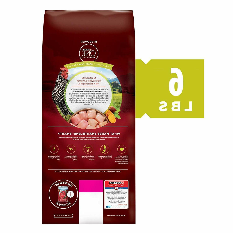 Purina SmartBlend Free Dry Dog Food, Sweet Potato, 6 lb