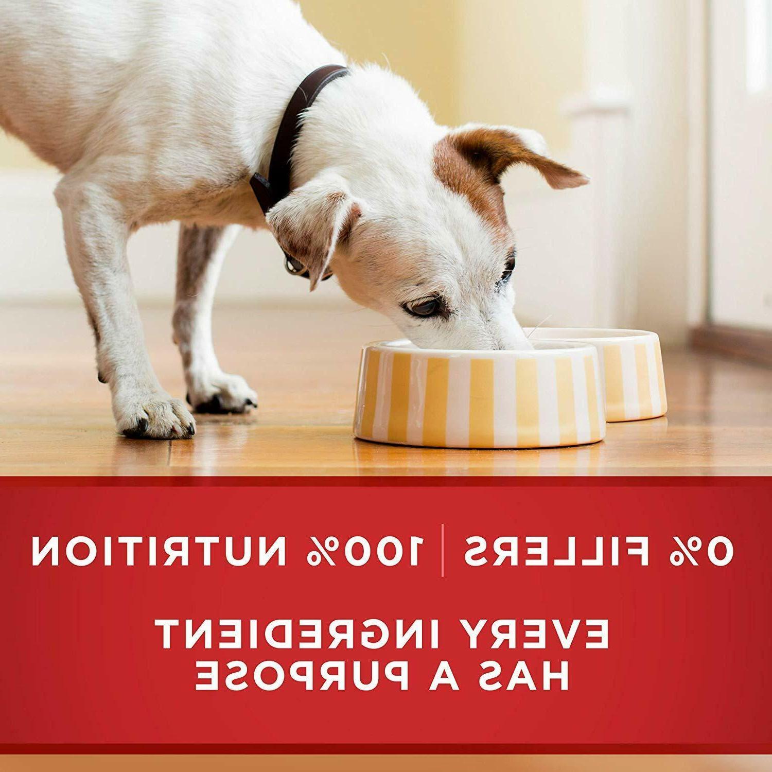Purina ONE Canned Wet Dog Food, for Adult/ Senior 7+, oz.