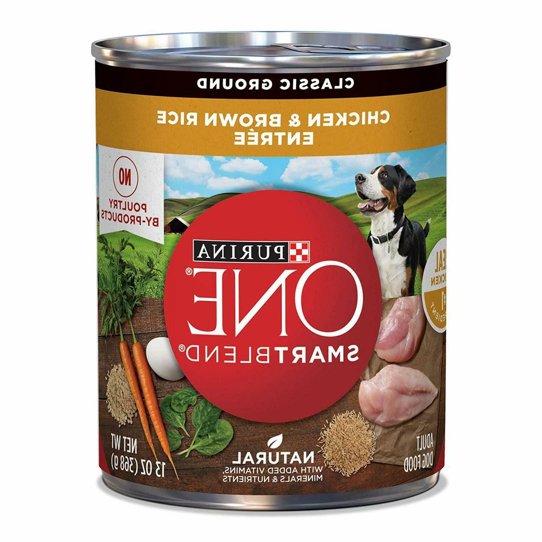 smartblend canned wet dog food for adult
