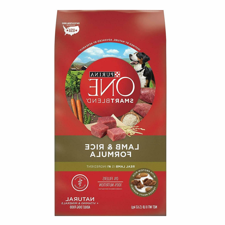 smartblend natural lamb formula adult dry dog
