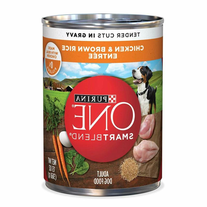 Purina ONE SmartBlend Tender Cuts Entree in Gravy Adult Wet