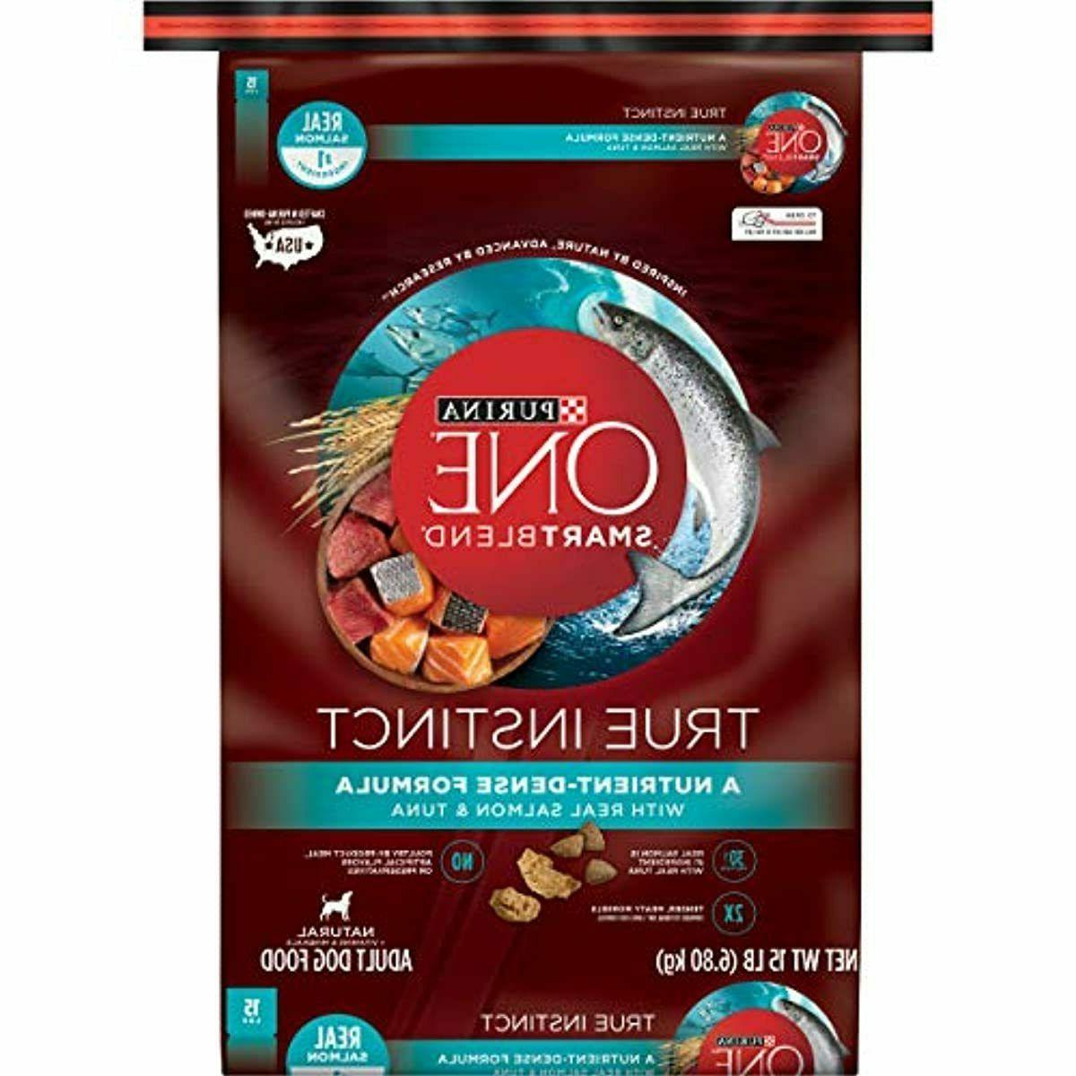 smartblend true instinct natural with real salmon