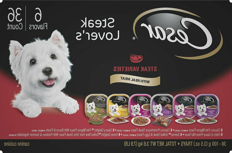 steak lover s variety pack dog food