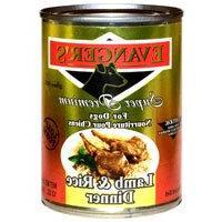 Evanger's Super Premium Lamb Rice Dinner Canned Dog Food