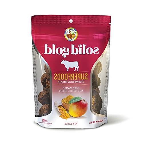 superfood dog treats grain beef