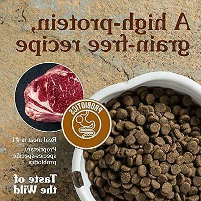 Taste Dry Of Wild Protein Meat Recipe Prairie Premium