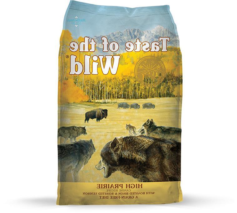 taste of the wild high prairie dry