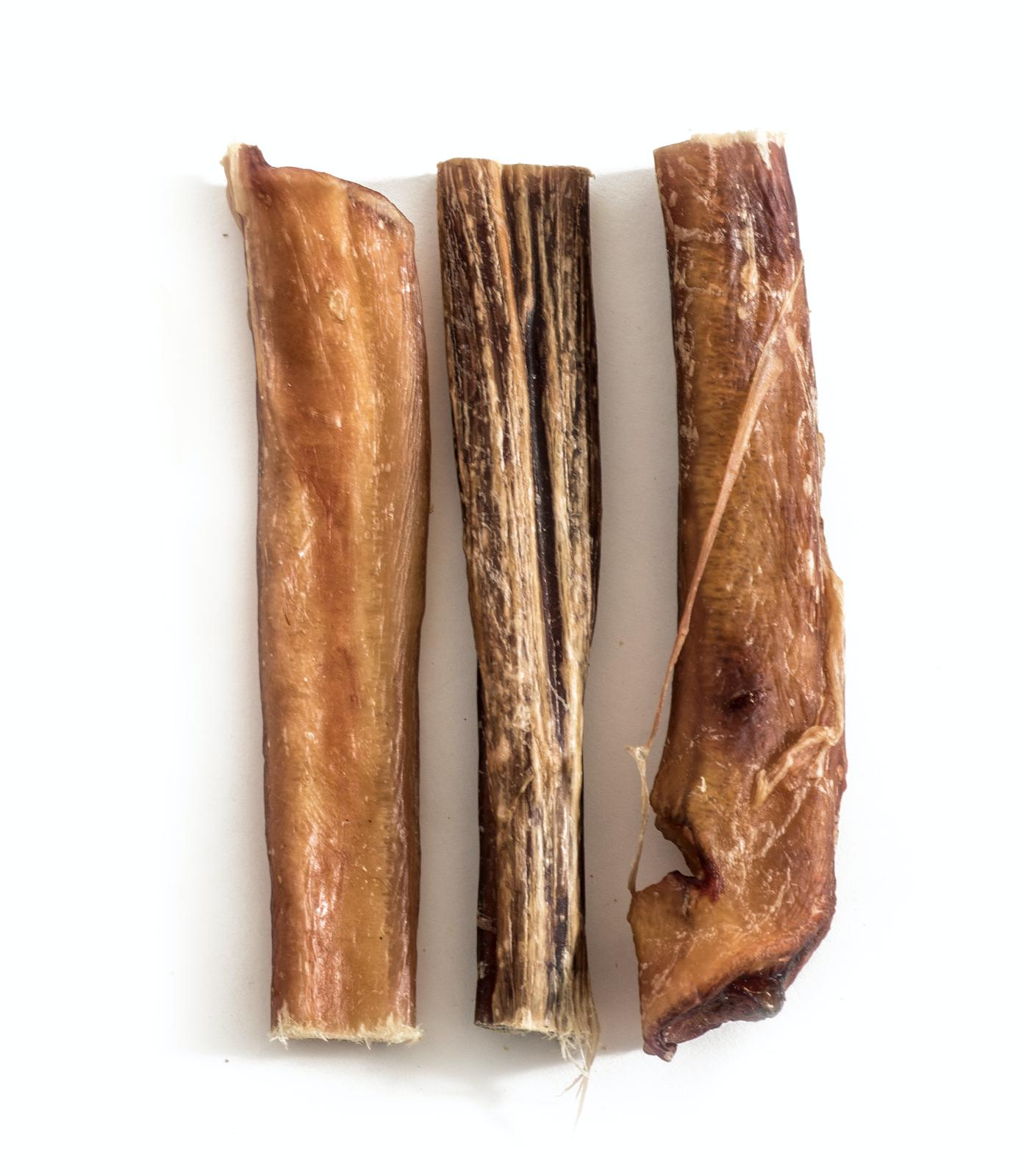 "6"" Thick Sticks 6 pcs Natural Dog Treats USDA Approved"