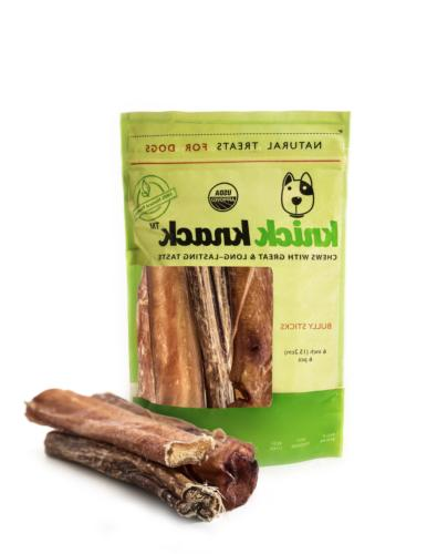 thick bully sticks natural dog treats dental