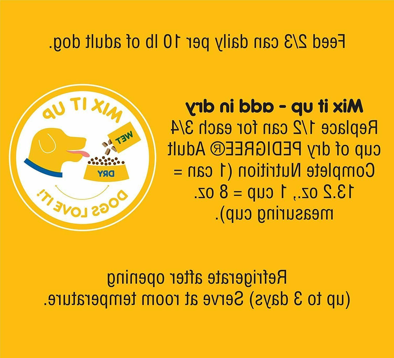 Wet Dog Food & Dinner Dog 12 13.2