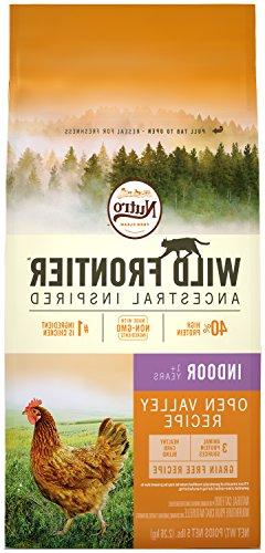WILD FRONTIER Indoor Adult Grain Free Dry Cat Food Chicken F