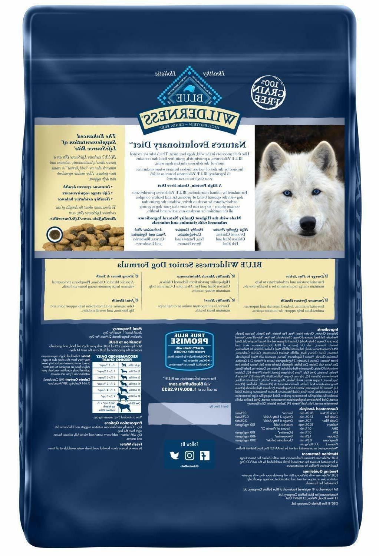 Blue Recipe Dry Dog Bag