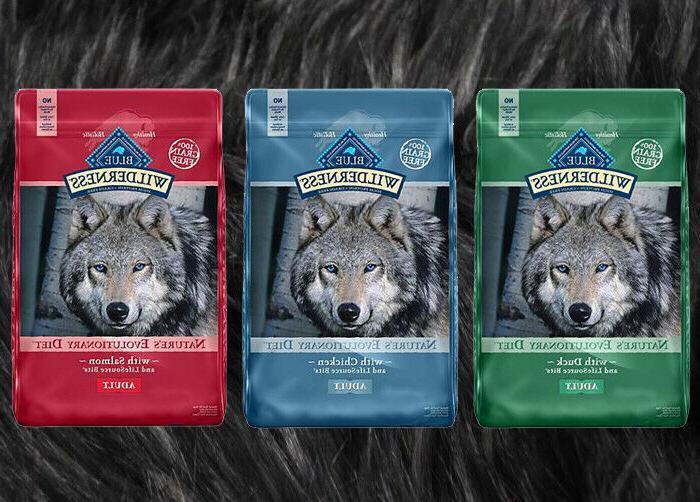 wilderness grain free dry dog food 24