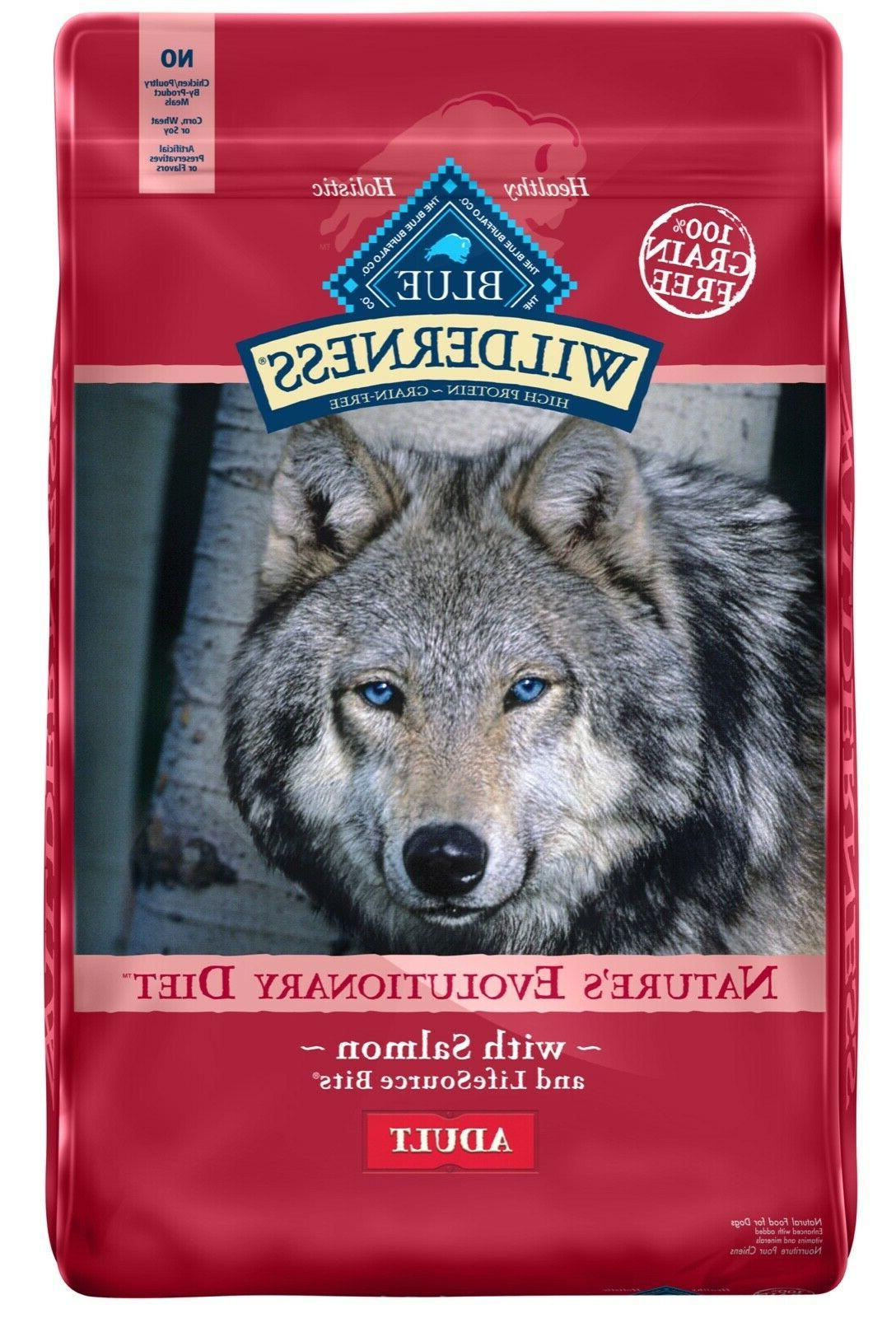 wilderness grain free natural adult dry dog