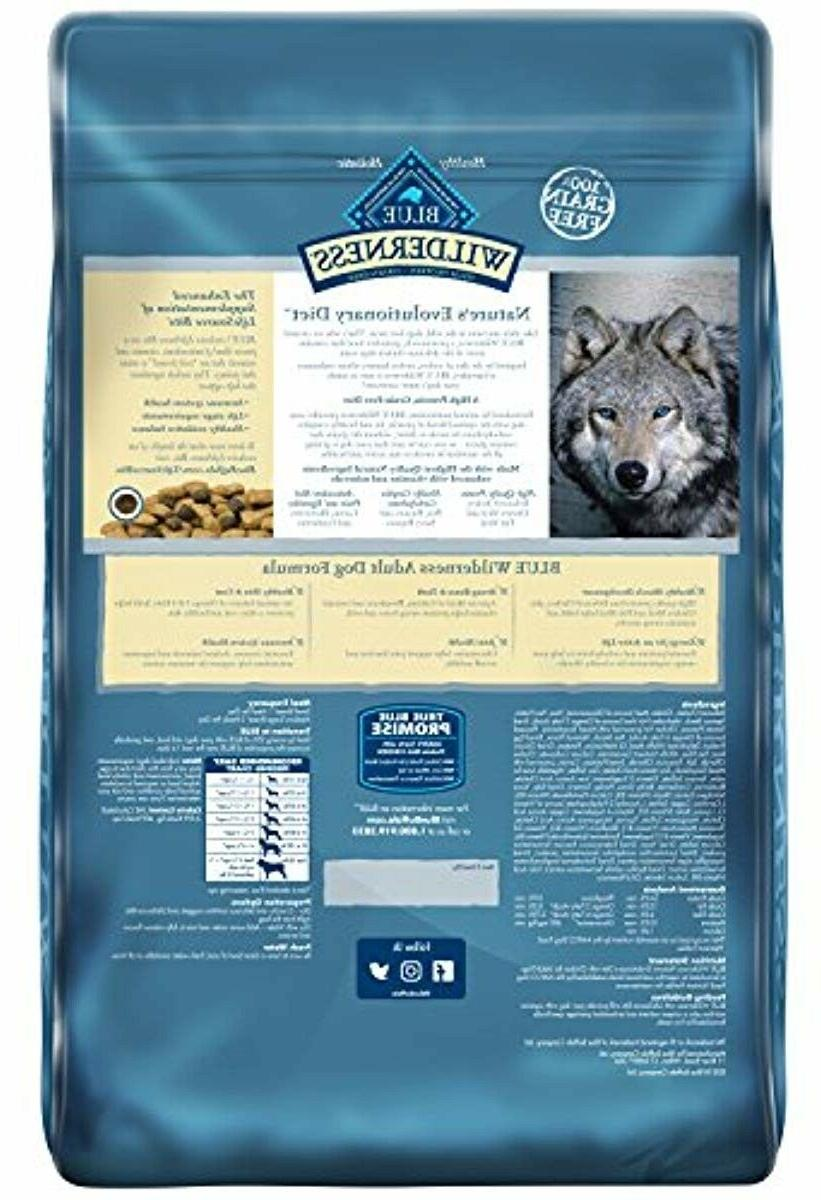Blue Wilderness High Protein Grain Free, Natural Adult