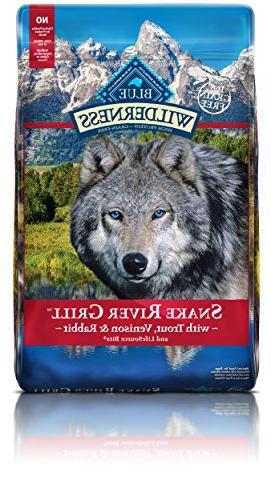 Blue Wilderness® Snake River Grill Dog Food - Natural, G