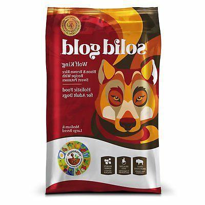 wolf king holistic dry dog