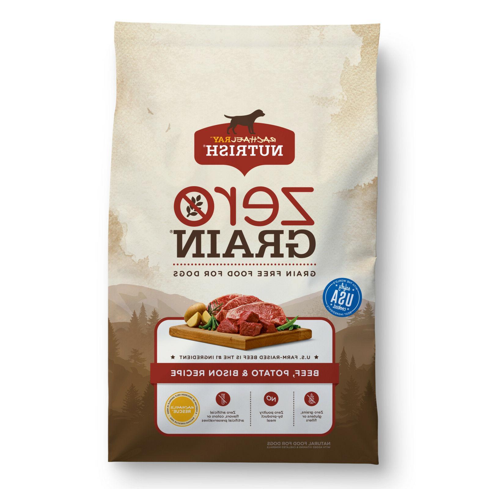 zero grain dry dog food