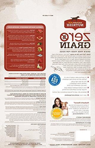Rachael Nutrish Zero Grain Dry Food, Free, Potato & Lbs