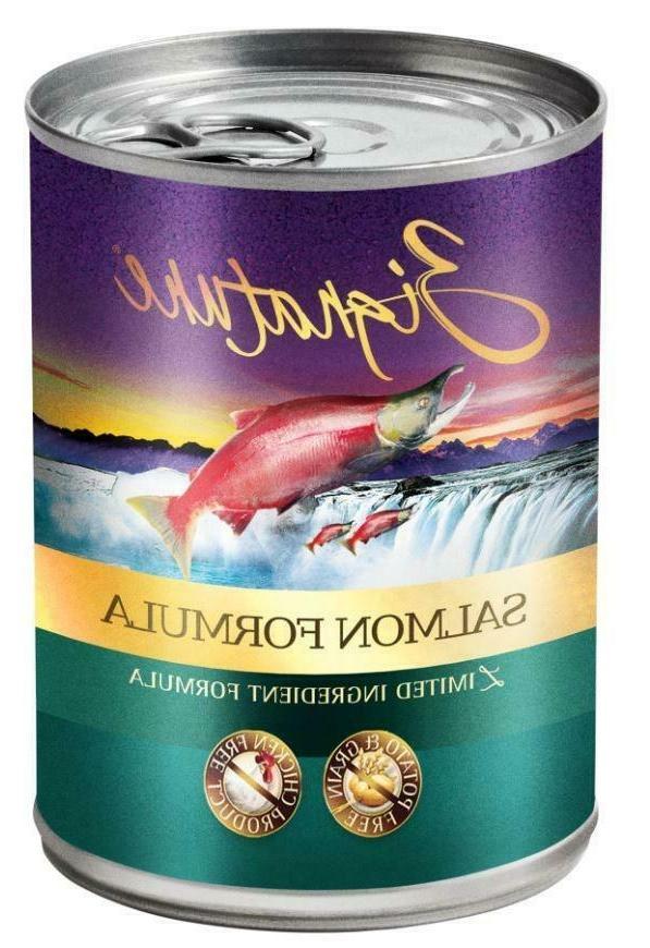 zignature grain free salmon limited ingredient formula