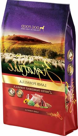 Zignature Lamb Limited Ingredient Formula Grain-Free Dry Dog