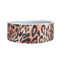 Leopard Dog Bowl Leopard Texture Leopard Pattern Safari Dog
