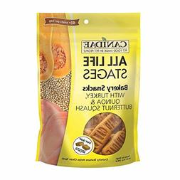 CANIDAE All Life Stages Bakery Snacks for Dogs with Turkey,