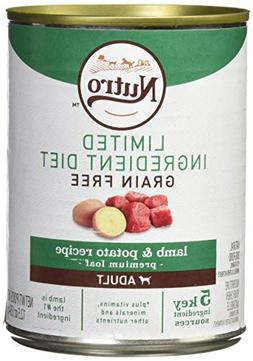 Nutro Limited Ingredent Diet Grain Free Adult Lamb & Potato