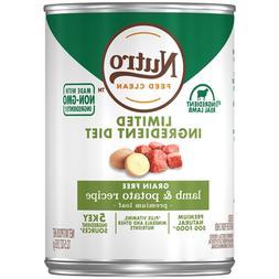 Nutro Limited Ingredient Diet Grain Free Lamb & Potato Pate