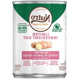 Nutro Limited Ingredient Diet Grain Free Turkey & Potato Pat