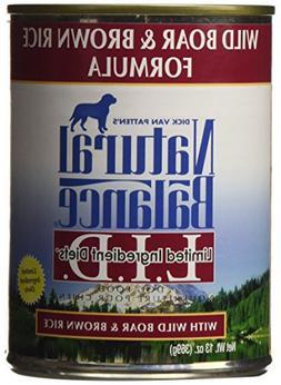 Natural Balance Limited Ingredient Diets Wild Boar & Brown R