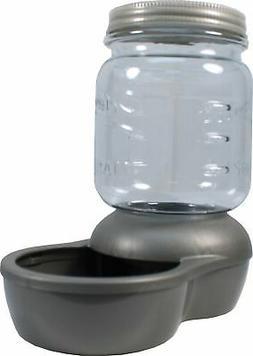 Petmate® Mason Jar Replenishing Waterer size: 1 Gal