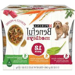 Purina Beneful Medleys Adult Wet Dog Food Variety  3 oz. Can