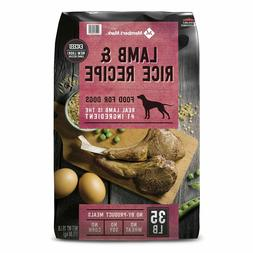 Member's Mark Exceed Dry Dog Food, Lamb & Rice 35 lbs. All A