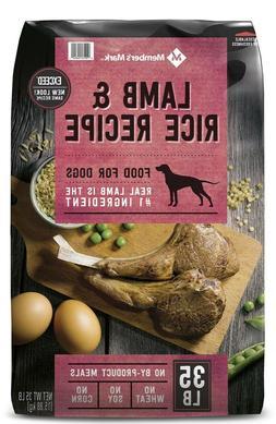 Member's Mark Exceed Dry Dog Food, Lamb & Rice (35 lbs