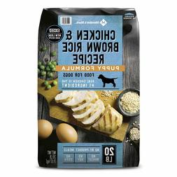 Member's Mark Exceed Dry Puppy Food, Chicken and Rice 20 Lbs