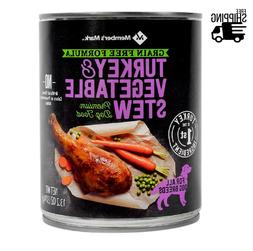 Member's Mark Grain Free Turkey & Vegetable Stew Premium Dog