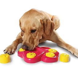 Efanr Multifunction Dog Puzzle Toys 7 Hole Large Footprint D