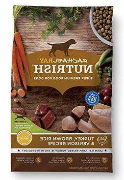 Rachael Ray Nutrish Natural Dry Dog Food Brown Rice Venison