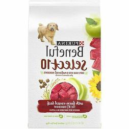 Purina Beneful Natural Dry Dog Food; Select 10 With Farm Rai